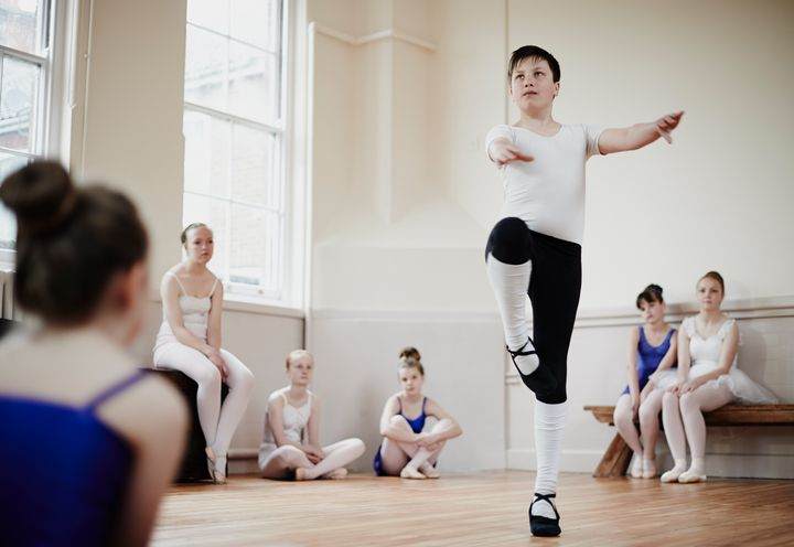 Girls outnumber boys by 20 to 1 in most ballet classes.