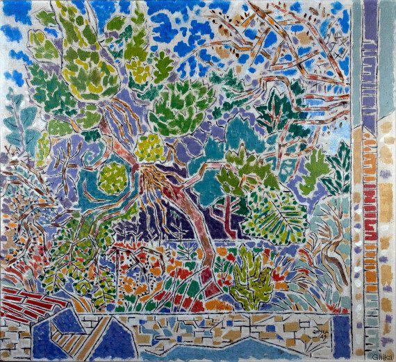 Εικαστικό οδοιπορικό στην Ελλάδα των Γκίκα, Κράξτον και