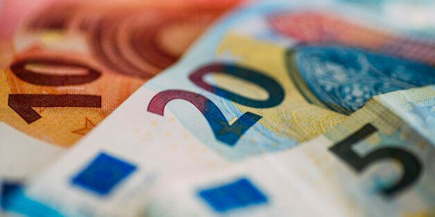 New euro notes of 5, 10 and 20