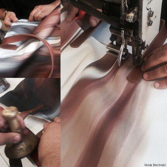 Η εικαστικός Βένια Μπεχράκη δημιουργεί 100 συλλεκτικές tote bags-έργα