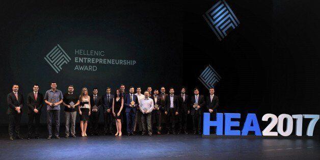 Όλοι οι νικητές του Ελληνικού Βραβείου Επιχειρηματικότητας