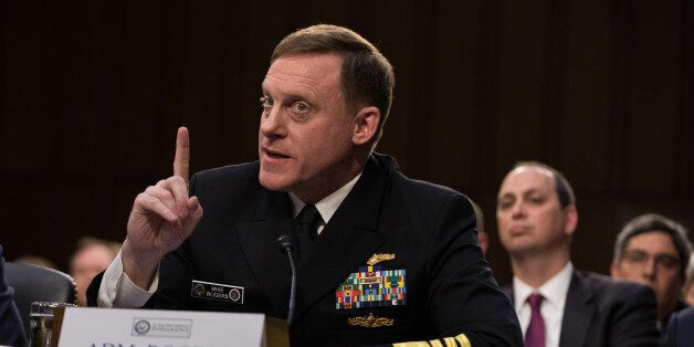 National Security Agency Director Adm. Mike Rogers, testified in front of the Senate Intelligence Committee,...