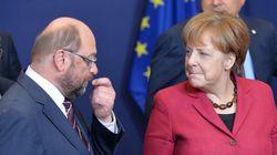 Ο σοσιαλδημοκράτης Σουλτς χάνει έδαφος στους συντηρητικούς της Μέρκελ σε νέα