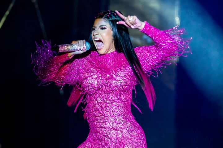 Cardi B performs on the first day of Music Midtown at Piedmont Park on Sept. 14, 2019, in Atlanta, Georgia. (Photo by Scott L
