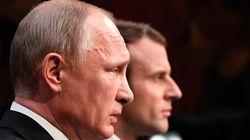 Μακρόν προς Πούτιν: Κάθε χρήση χημικών στη Συρία θα αντιμετωπιστεί με άμεσα αντίποινα από τη