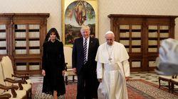 Να γιατί η Melania Trump ντύθηκε στα μαύρα όταν συνάντησε τον Πάπα