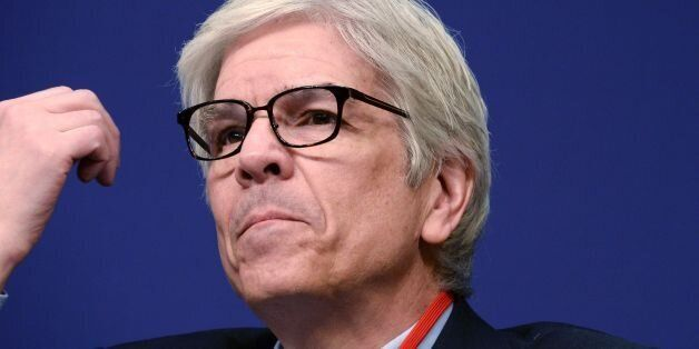 World bank Chief economist Paul Romer attends the opening session of the 6th edition of the 'Entretiens...