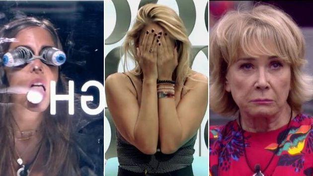 Anabel Pantoja, Alba Carrillo y Mila Ximénez en 'GH VIP 7'
