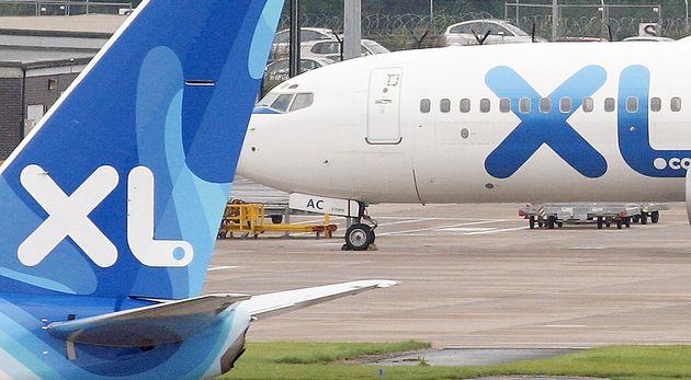La compagnie XL Airways, dont des avions sont visibles ici en septembre 2008 à Manchester, s'est déclarée...