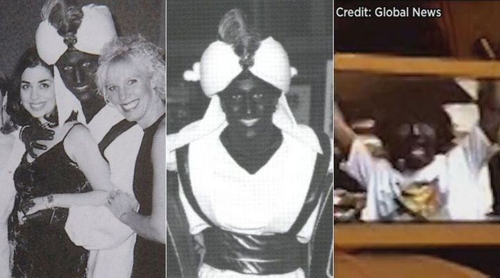 Photos have emerged of Liberal Leader Justin Trudeau dressed up in brown or blackface on three occasions.