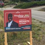 Liberal Candidate's Election Signs Defaced With Blackface