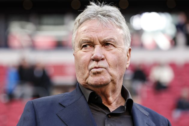 Guus Hiddink during the Dutch Eredivisie match between Ajax Amsterdam and PSV Eindhoven at the Johan...