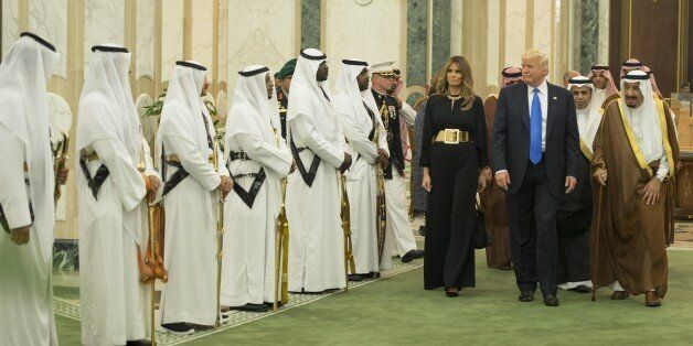 RIYADH, SAUDI ARABIA - MAY 20: (----EDITORIAL USE ONLY MANDATORY CREDIT - 'BANDAR ALGALOUD / SAUDI ROYAL...