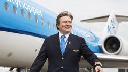 Την επόμενη φορά που θα πετάξετε με KLM, προσέξτε τον πιλότο. Μπορεί να είναι ο βασιλιάς της