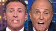 クリスCuomoが何Giulianiしを行っているとの虜に面接