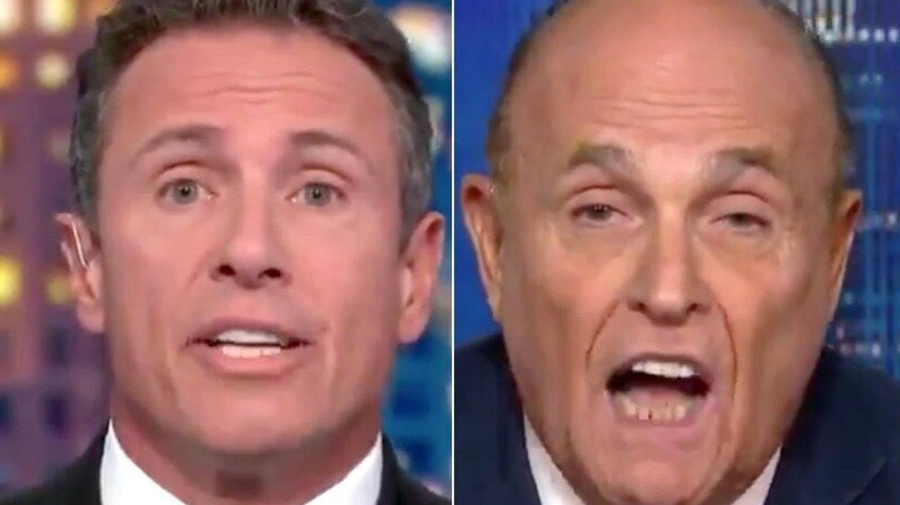 Westlake Legal Group 5d8453b92100005b00e46db7 Rudy Giuliani Melts Down On Live TV In Bizarre Chris Cuomo Interview