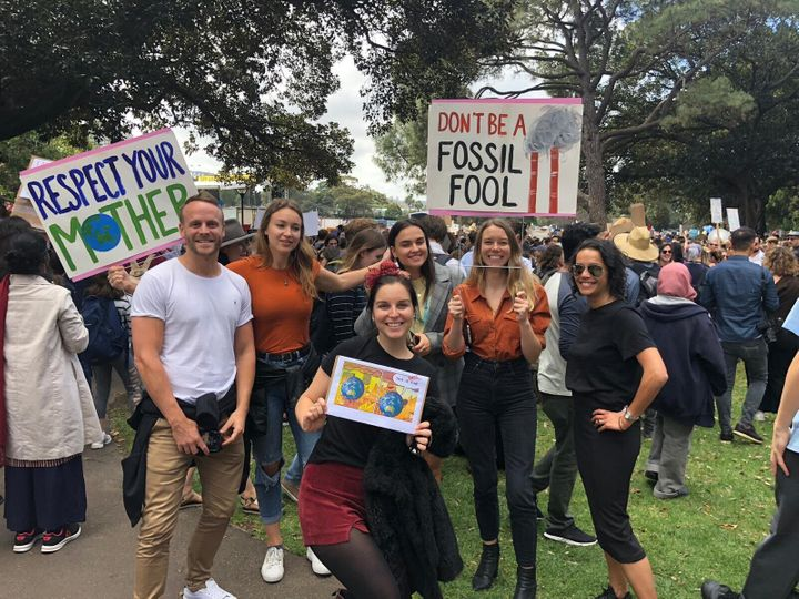 Employees from major companies demanded action on climate change on Friday.