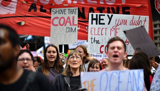 The Wittiest Signs At Australia's Climate Strike