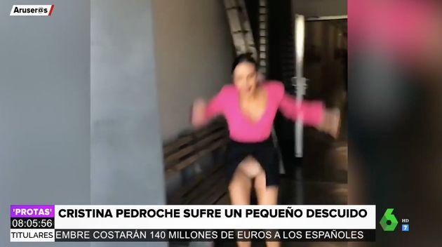 El percance de Cristina Pedroche durante su