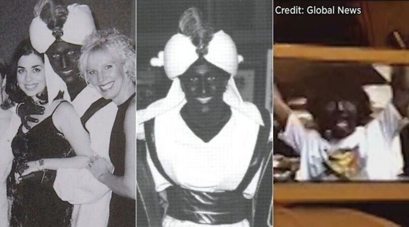 흑인 분장 스캔들 : 트뤼도가 공들여 쌓아온 이미지가 무너져