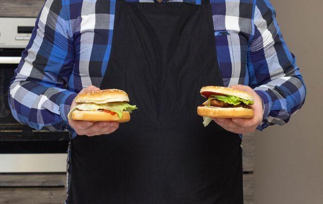 ハンバーガーのイメージ写真