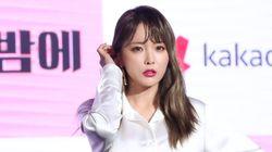 홍진영이 소속사와의 법적 분쟁을