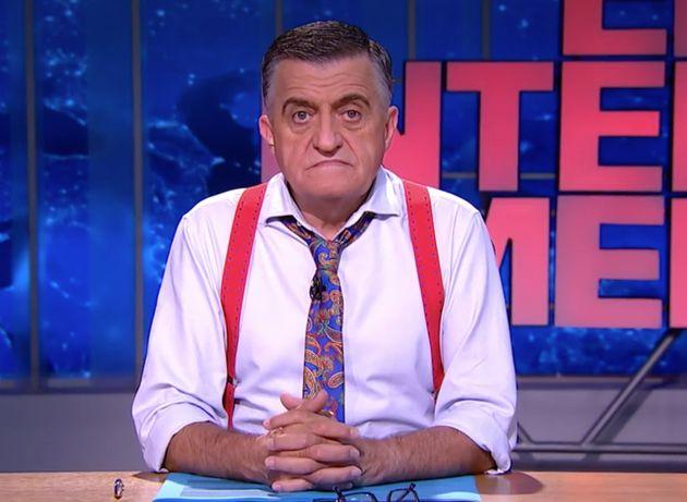 El presentador de El Intermedio de la Sexta, El Gran