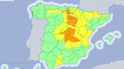 Mucho ojo este viernes: más de media España está en alerta por fuertes lluvias o