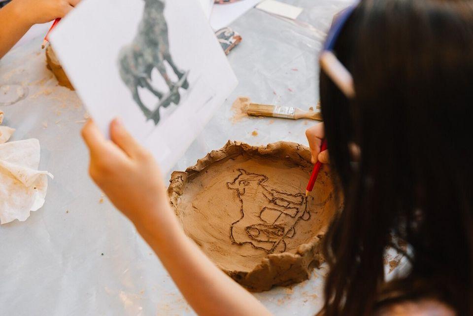 Όταν τα παιδιά εμπνέονται από την αρχαιότητα και τον Πικάσο και δημιουργούν τα δικά τους