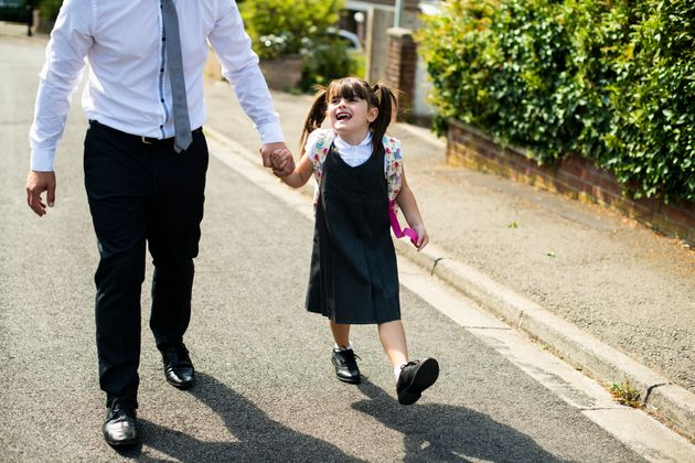 Heres Why You Should Walk Your Child To School On Monday