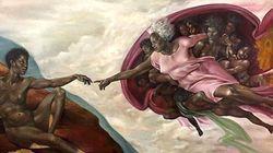 Ο κόσμος δεν μπορεί να χωνέψει το γεγονός ότι ο Θεός έγινε μαύρη γυναίκα στην Καπέλα