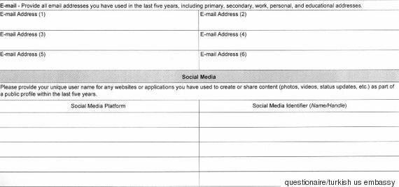 Όνομα χρήστη στα social media, emails, αριθμούς κινητών τηλεφώνων κ.α. ζητούν πλέον οι ΗΠΑ για την έκδοση