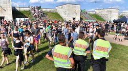 Η γερμανική αστυνομία συνέλαβε δύο άτομα μετά τη διακοπή συναυλίας εξαιτίας τρομοκρατικής