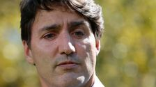 Justin Trudeau Blackface Foto Angkatan Perhitungan Di Kanada Global Gambar