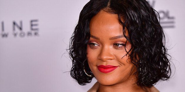 NEW YORK, NY - MAY 22:  Rihanna attends the 69th Annual Parsons Benefit at Pier Sixty at Chelsea Piers on May 22, 2017 in New York City.  (Photo by James Devaney/WireImage)