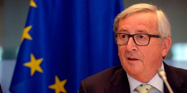 European Union Commission President Jean-Claude Juncker speaks during an audition on tax evasion at the...