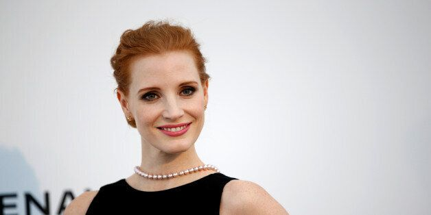 70th Cannes Film Festival – The amfAR's Cinema Against AIDS 2017 event – Photocall Arrivals - Antibes, France. 25/05/2017. Jury member actress Jessica Chastain poses.       REUTERS/Stephane Mahe