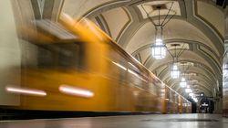 Τρελή πορεία ΙΧ σε σταθμό του μετρό στο Βερολίνο. Έξι οι