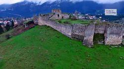 Βίντεο: Μαγευτική πτήση πάνω από το κάστρο της «Κυράς των Θερμοπυλών» στη