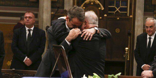 Ο επικήδειος του προέδρου της ΝΔ για τον Κωνσταντίνο Μητσοτάκη: «Ο τελευταίος μιας γενιάς που πέρασε...