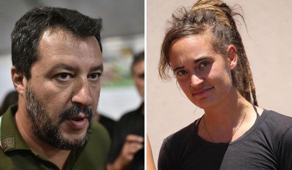 """Tra Salvini e Carola """"c'è di mezzo il mare"""" (aperto)"""