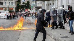Επεισόδια στο κέντρο της Αθήνας στην πορεία για το