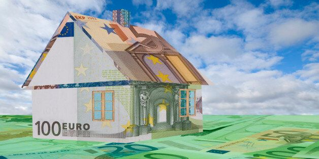 House made of Euro