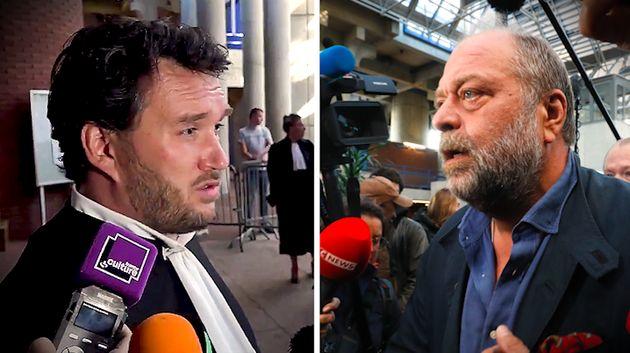 Maîtres Mathieu Davy et Eric Dupond-Moretti s'affrontent au procès de Jean-Luc