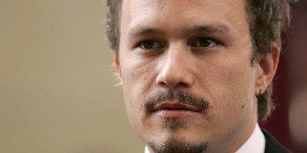 Actor Heath Ledger nominated for best actor
