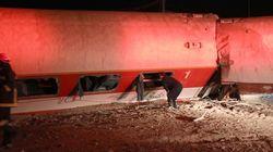 Εκτροχιασμός τρένου έξω από τη Θεσσαλονίκη. ΕΚΑΒ: Δύο οι νεκροί και επτά οι