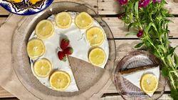 Συνταγή για κέικ λεμόνι χωρίς ζάχαρη με μυρωδάτη