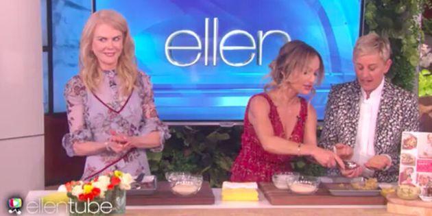 H Nicole Kidman είχε την καλύτερη αντίδραση σε μία σεφ που της είπε ότι «δεν ξέρει να