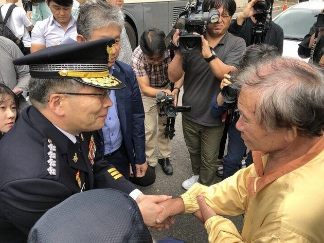 개구리소년 사건 현장 찾은 민갑룡 경찰청장이 한 말