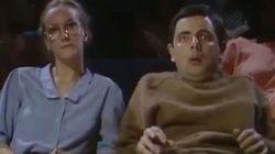 O Mr. Bean, πρωταγωνιστής στο σποτ του ΠΑΜΕ για τη γενική